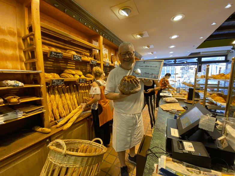 Fabrice Gwizdak décroche le prix de la meilleure brioche régionale